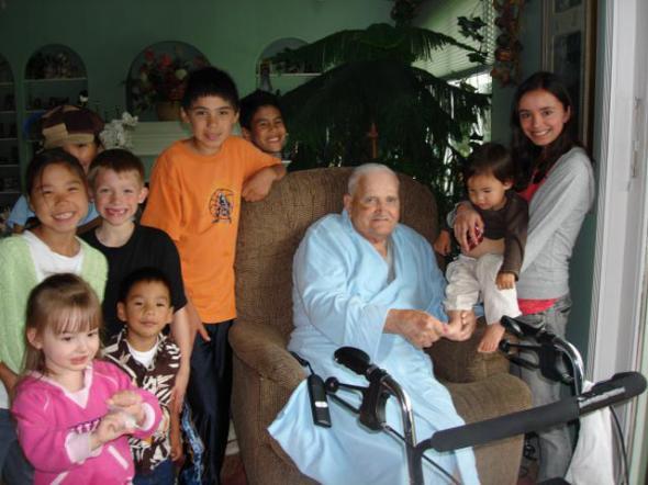 Grandpa Gugel at 91.