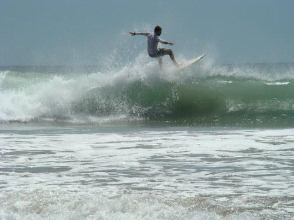 Grande surfer