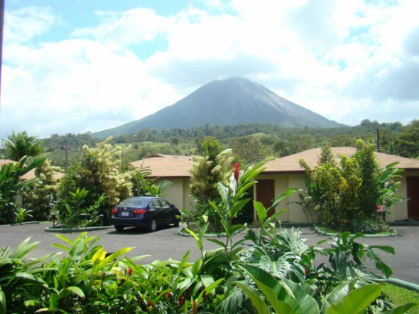 Volcano Arenal from our room