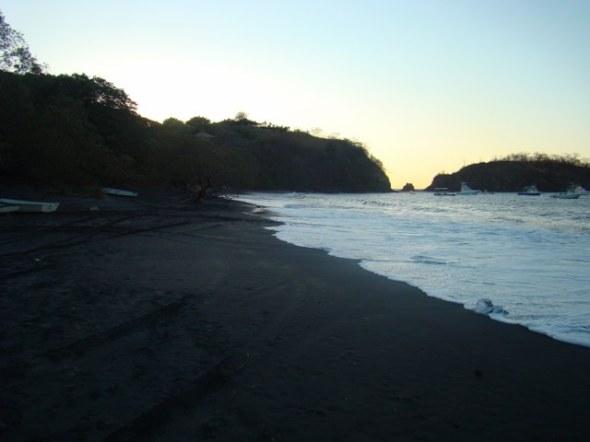 Playa Ocatal, fishing community near Playa Del Coco.