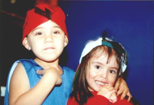 my all time favorite picture of Dorian & Alli, circa 1999