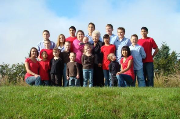 Nana, Grandma and their 20 grandkids and counting