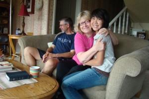 Mort , Sonya & Olivia, some of my favorite people.