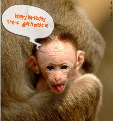 happy birthday funny monkey - photo #16