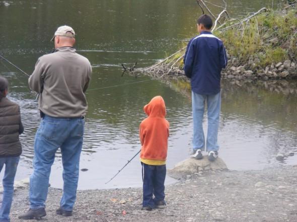 Anchor River fishing