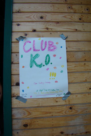 The world famous Club K.O. Make your reservations now!