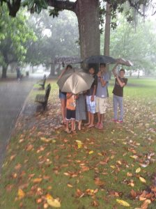 rain kids